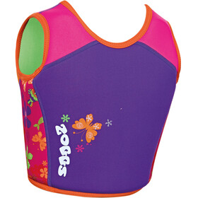 Zoggs Mermaid Flower Swim Jacket Kids Plum